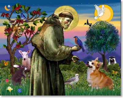St.-francis-with-animals